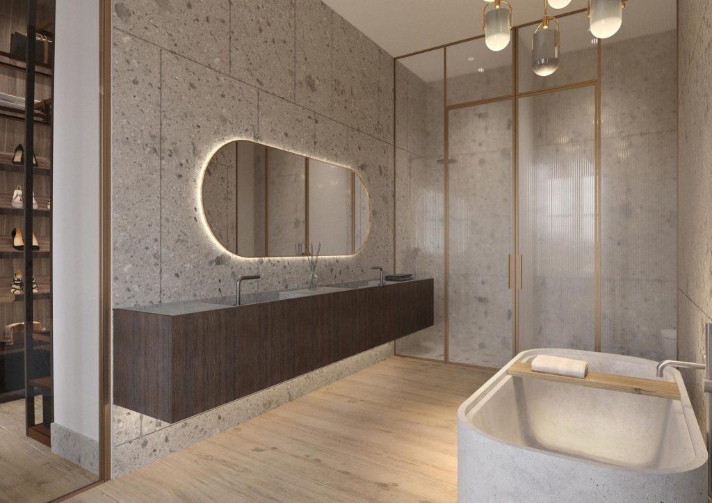 View Master Bathroom 1
